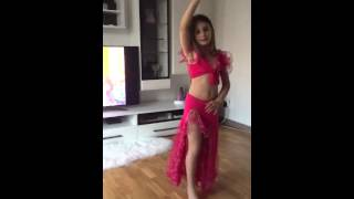 Erza belly dance 7 years old