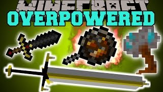getlinkyoutube.com-Minecraft: OVERPOWERED WEAPONS (NOTHING WILL STAND IN YOUR WAY!) Mod Showcase