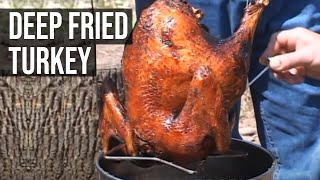 getlinkyoutube.com-Deep Fried Turkey by the BBQ Pit Boys