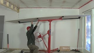 getlinkyoutube.com-How To Use a Drywall Lift