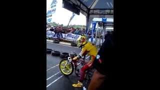 getlinkyoutube.com-Sabrina drag bike deltamas metic 200cc