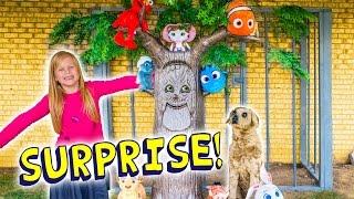 getlinkyoutube.com-ASSISTANT Jail Surprise TheEngineeringFamily Funny Kid Surprise Eggs Video Finding Dory + Paw Patrol