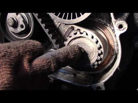 Как умирают двигателя на Рено трафик, замена блока шестерёнок