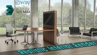 getlinkyoutube.com-Realistic Interior Lighting in 3ds max - Vray