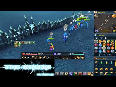 RS3 Wilderness Cluster | Titans Revolution vs World | ft. speech