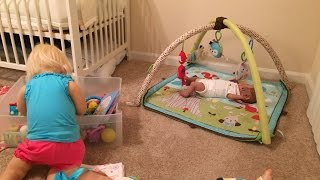 getlinkyoutube.com-Night in the life of reborn toddler Prim and baby Carter and Zoe!