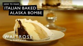 getlinkyoutube.com-Italian Baked Alaska Bombe | Waitrose