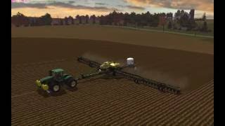 getlinkyoutube.com-Planting Windchaser:  John Deere 9560R & DB120