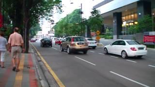 Evening Walk Around Kuala Lumpur Malaysia [Jalan P Ramlee]