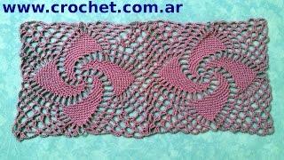 getlinkyoutube.com-Unión Motivo N° 8 granny square en tejido crochet tutorial paso a paso.