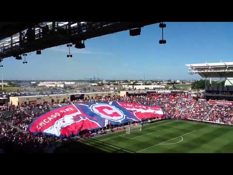 Section 8 Chicago Megabandera II - 6/17/2012 - Proud Supporters of Chicago Fire Soccer Club