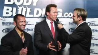 getlinkyoutube.com-Lee Labrada and Arnold Schwarzenegger