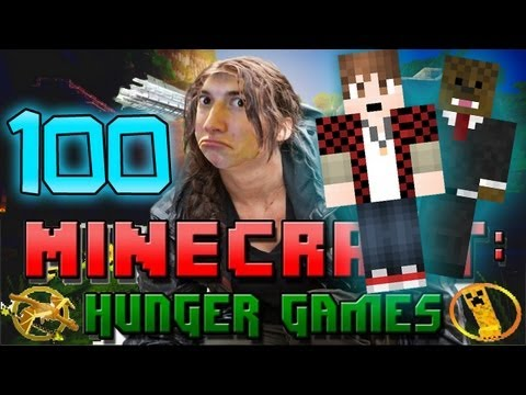 Minecraft: Hunger Games w/Mitch! Game 100 -