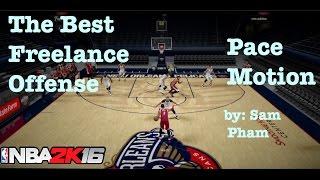 getlinkyoutube.com-NBA 2K16 Tips : Best Offense to Score. How to Break Defense. Freelance Pace Motion Tutorial #20