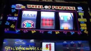 getlinkyoutube.com-Slot * Jackpot * Wheel of Fortune Machine Slots Winner Progressive Win Cash Reno Nevada Siena Casino