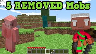 getlinkyoutube.com-Minecraft - 5 REMOVED Mobs (Old Minecraft Mobs)