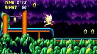 getlinkyoutube.com-Sonic 2 XL: Fat Super Sonic