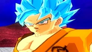 getlinkyoutube.com-Goku Super Saiyan Blue VS Hit Parte 1 Mod Historia Dragon Ball Tenkaichi 3
