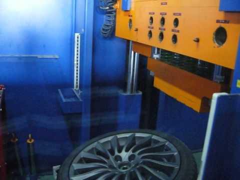 Тест на удар (обод) - колесные литые диски на Alfa Romeо(Альфа Ромео).WSP Italy W256 GIULIETTA