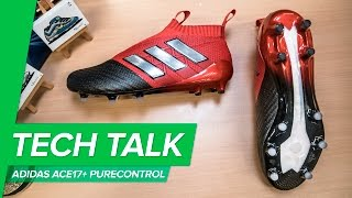 adidas ACE 17+ Purecontrol Tech Talk - with Boost insole worn by Paul Pogba