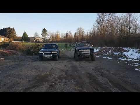 Ford Maverick vs Opel Frontera бензин против дизеля кто кого