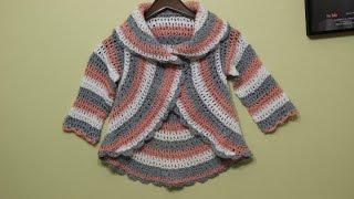 getlinkyoutube.com-Suéter 6 a 7 años Crochet