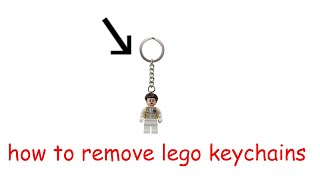 getlinkyoutube.com-how to remove lego keychains
