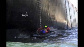 getlinkyoutube.com-MS Oliva runs aground, Tristan da Cunha, Nightingale Island.