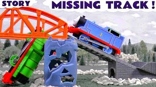 getlinkyoutube.com-Thomas and Friends Funny Prank Train Accident Play Doh Diggin Rigs Rescue | Tom Moss Toy Fun