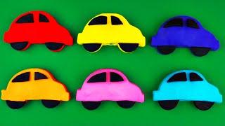 getlinkyoutube.com-Play-Doh Cars Surprise Eggs Traffic Jam! Cars 2 Thomas Tank Engine Disney Frozen Spongebob FluffyJet