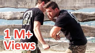 getlinkyoutube.com-KRAV MAGA TRAINING • How to survive a Knife attack (part 2 of 4)