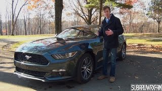 getlinkyoutube.com-Review: 2015 Ford Mustang EcoBoost