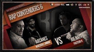 Rap Contenders Edition 6 - Marshall'Ombre & Arcanes vs Joe Natt & Pasteur H
