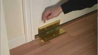 getlinkyoutube.com-Door Barricade NIGHTLOCK , Home Security  Door Brace