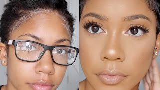 getlinkyoutube.com-START TO FINISH | GO TO TRANSFORMATION | HAIR AND MAKEUP | FaceOverMatter