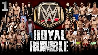getlinkyoutube.com-WWE 2K15 - 30 Man Royal Rumble For WWE World Heavyweight Title | Universe Mode Special [PS4]