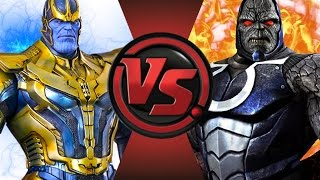 getlinkyoutube.com-THANOS vs DARKSEID! Cartoon Fight Club Episode 54!
