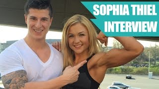 getlinkyoutube.com-Pumping Sophia Thiel - Training, Ernährung, Bikinifigur