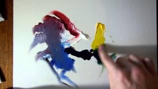 getlinkyoutube.com-Как начать рисовать маслом. Краска, цвета, кисти, растворитель.