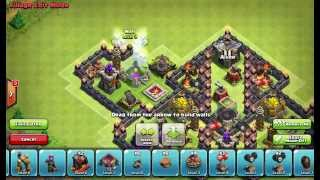 getlinkyoutube.com-Clash of Clans Layouts - Town Hall 10 Farming 87 (Butterfly) with 275 Walls