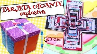 getlinkyoutube.com-TARJETA GIGANTE Explosiva - AMOR, Felicitaciones, DÍAS ESPECIALES