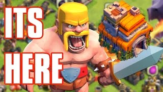 getlinkyoutube.com-Town Hall 7 Upgraded! Clash of Clans Let's Play