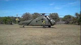 "getlinkyoutube.com-Sikorsky UH-34D ""Ugly Angel"" YL-37 helicopter take-off"