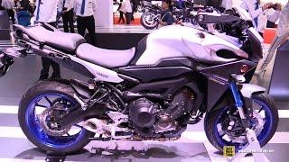 getlinkyoutube.com-2016 Yamaha MT09 Tracer ABS - Walkaround - 2015 Tokyo Motor Show