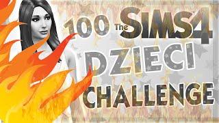 getlinkyoutube.com-THE SIMS 4 CHALLENGE 100 DZIECI #36 POŻAR