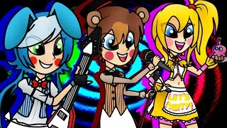 getlinkyoutube.com-The Band (Five Nights At Freddy's 2) Speedpaint - By TigerMC