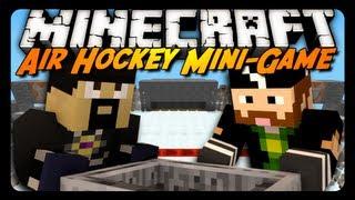getlinkyoutube.com-Minecraft Mini-Game: AIR HOCKEY! w/ AntVenom & CavemanFilms!