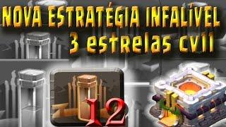 getlinkyoutube.com-3 ESTRELAS COM 12 TERREMOTOS EM QUALQUER CV11 | CLASHLAND | CLASH OF CLANS