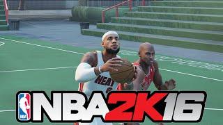 getlinkyoutube.com-NBA 2K16 - Prime '13 Lebron James vs Prime '96 Michael Jordan 1 on 1 Blacktop | Epic Finish