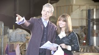 getlinkyoutube.com-Jenna Coleman reflects on her time with Peter Capaldi - Doctor Who: Series 9 (2015) - BBC
